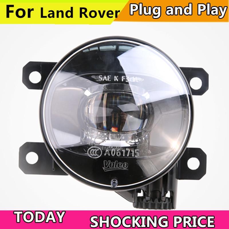 doxa Car Styling FOR VALEO Fog Lamp for Land Rover Range Rover Discovery Freelan LR2 LR3 LR4 Defender Fog Light Fog Lamp LED DRL