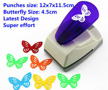 Free shipping Super Large Size Shaper Punch Craft Scrapbooking butterfly Paper Puncher large Craft Punch DIY children toysS8563 - DISCOUNT ITEM  0% OFF All Category