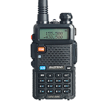 Baofeng UV-5R Walkie Talkie 5W 128CH Dual Band Two Way Radio UHF VHF FM VOX Pofung UV 5R ham radio Dual Display free headset