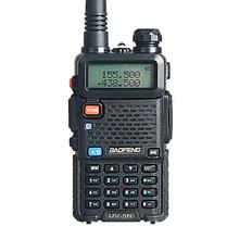 Baofeng UV-5R Walkie Talkie 5W 128CH Dual Band Two Way Radio UHF VHF FM VOX Pofung UV 5R ham radio Dual Display free headset
