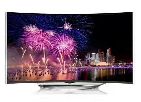 55 pouces HD LED TV Android smart wifi incurvé 1080 P LED télévision