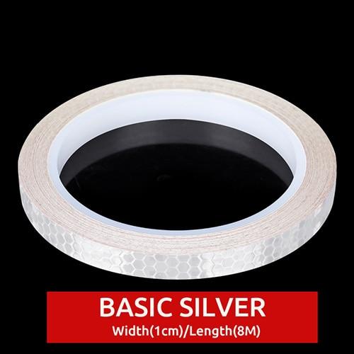 Silver Stickers 1cm