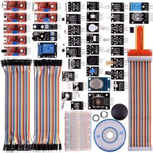 Miroad 38 in 1 Modules Sensor Kit with Tutorials for Raspberry Pi RPi 3 2 Model B B+ A 44 Components Kits for Raspberry Pi K47
