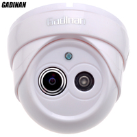 Gadinan 960P 25FPS 1 8mm Lens Ultra Wide Angle 120 Degree Dome Security Camera IP Camera