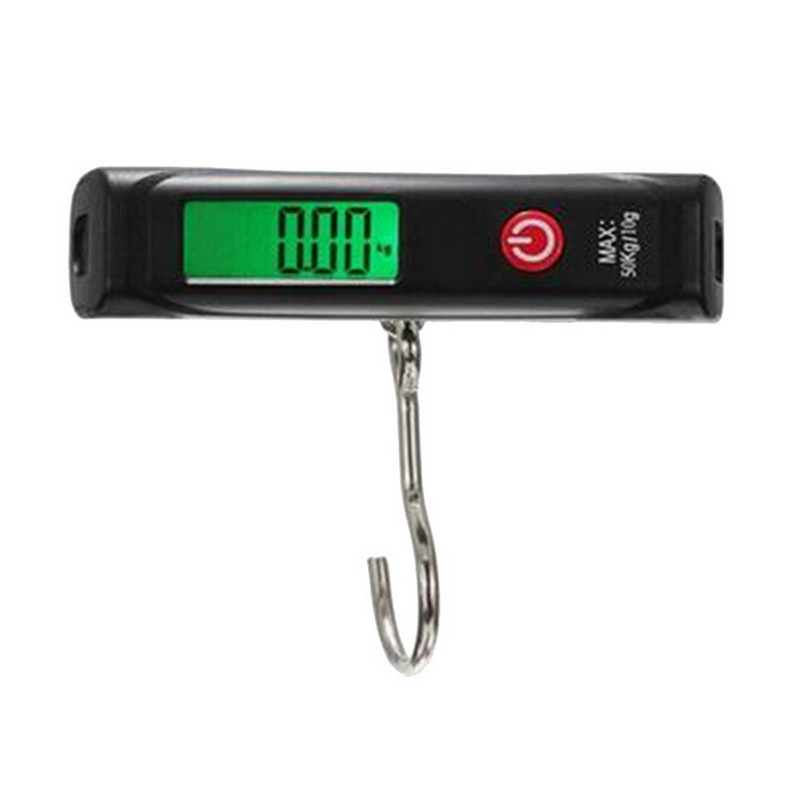 Hoomall 1PC 10g/50kg Mini Digital Hanging Scale Handheld Luggage Hook Scale LCD Backlight Portable Travel Balance Packet Scales
