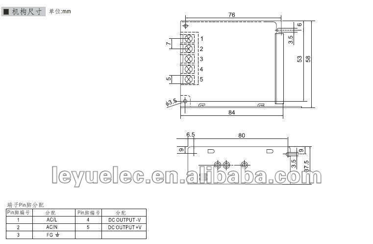 35 Вт 12 В мини Размеры Питание стабильное качество светодиодный драйвер
