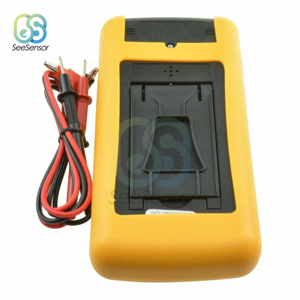 Image 5 - DT9205A Professional LCD Digital Multimeter Electric Handheld Ammeter Voltmeter Resistance Capacitance Tester AC DC-in Multimeters from Tools