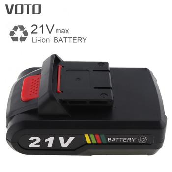 VOTO Universal 21V Max 5 x 2000mAh Li-ion Rechargeable Battery with Flat Push Type for Electric Drill / Electric Screw Driver lodestar professional ceramic screw driver ph1 5 x 22mm
