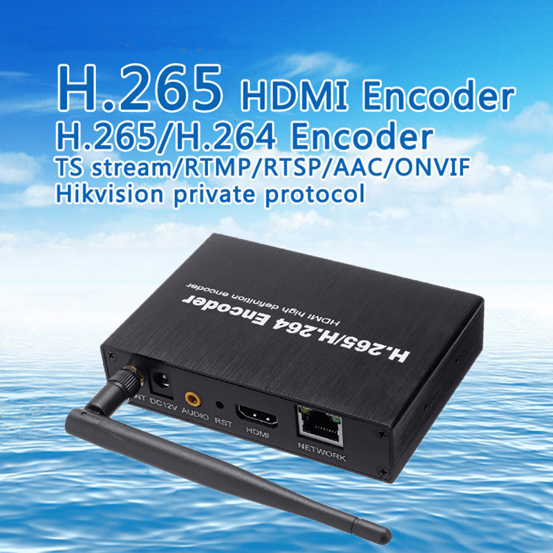 H.265 H.264 HDMI Video Audio Wifi Encoder IPTVs RTSP RTMP ONVIF HDMI Encoder H265 For Live Streaming BroadcastH.265 H.264 HDMI Video Audio Wifi Encoder IPTVs RTSP RTMP ONVIF HDMI Encoder H265 For Live Streaming Broadcast
