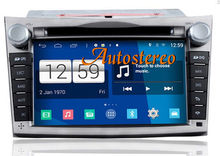 7 inch Android Dual System Car GPS Sat Nav Auto radio DVD Player Head Unit for Subaru Legacy Outback 2009+