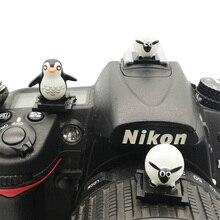 3D мультяшный фонарик для камеры Горячий башмак Крышка Горячий башмак для Canon Nikon Fujifilm Samsung Panasonic Leica Olympus