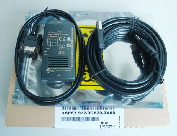 Programming Cable for USB-MPI Siemens S7-300//400 Adapter RS485 Isolated PLC