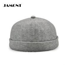 JAMONT Spring Retro Golf Caps Outdoor Sports Cotton Hat No Brim Walking Hat  5 Colors Unisex 10390076af3