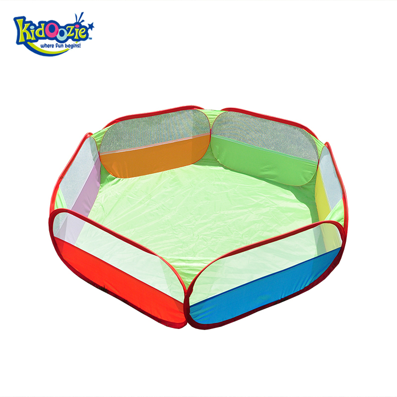 Kidoozie piscina de bolinha For Children Folding Toys Childrens Plastic Pool Games Polygons Play Inflatable Tents