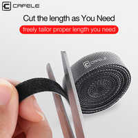Cafele Cable Organizer Wire Winder Holder Earphone Mouse Cord Clip Protector USB Cable Organizer for iPhone Micro USB Type C