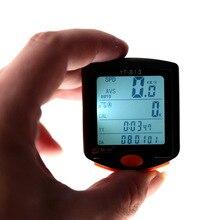 Bogeer велосипедный компьютер беспроводной Велосипедный компьютер цифровой одометр спидометр секундомер термометр Подсветка непромокаемый