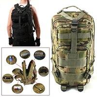 Men Women Military Tactical Backpack Jungle Trekking Rucksack Travel Assault Pack Rucksacks Camping Hiking Camouflage Army Bag