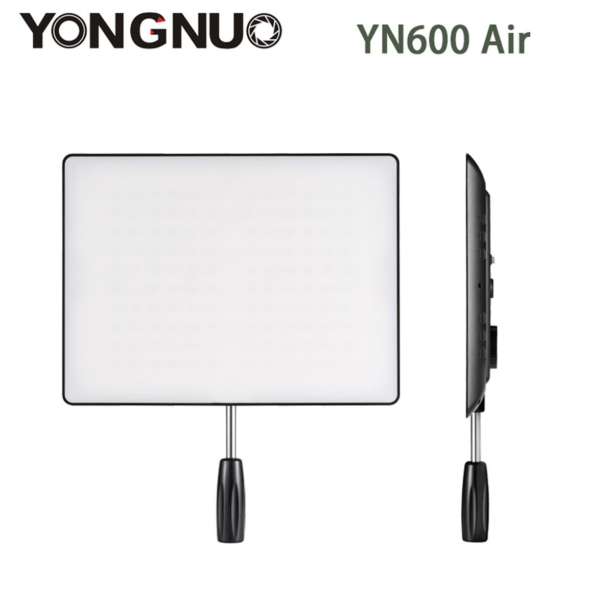 YONGNUO YN600 Air Ultra Thin LED Camera Video Light 3200K-5500K for Canon Nikon Pentax Olympas Samsung DSLR & Camcorder