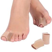 2pcs Pedicure Orthotics Toe Separator Silicone Insoles Hallux Valgus Toe Bone Valgus Corrector Foot Metatarsal Feet Care все цены