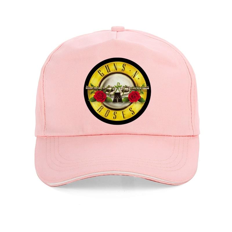 Unisex cap GUNS N ROSE NIGHTRIAN Baseball Caps Men women rock summer 100 cotton Snapback hat punk skull rose design in Men 39 s Baseball Caps from Apparel Accessories