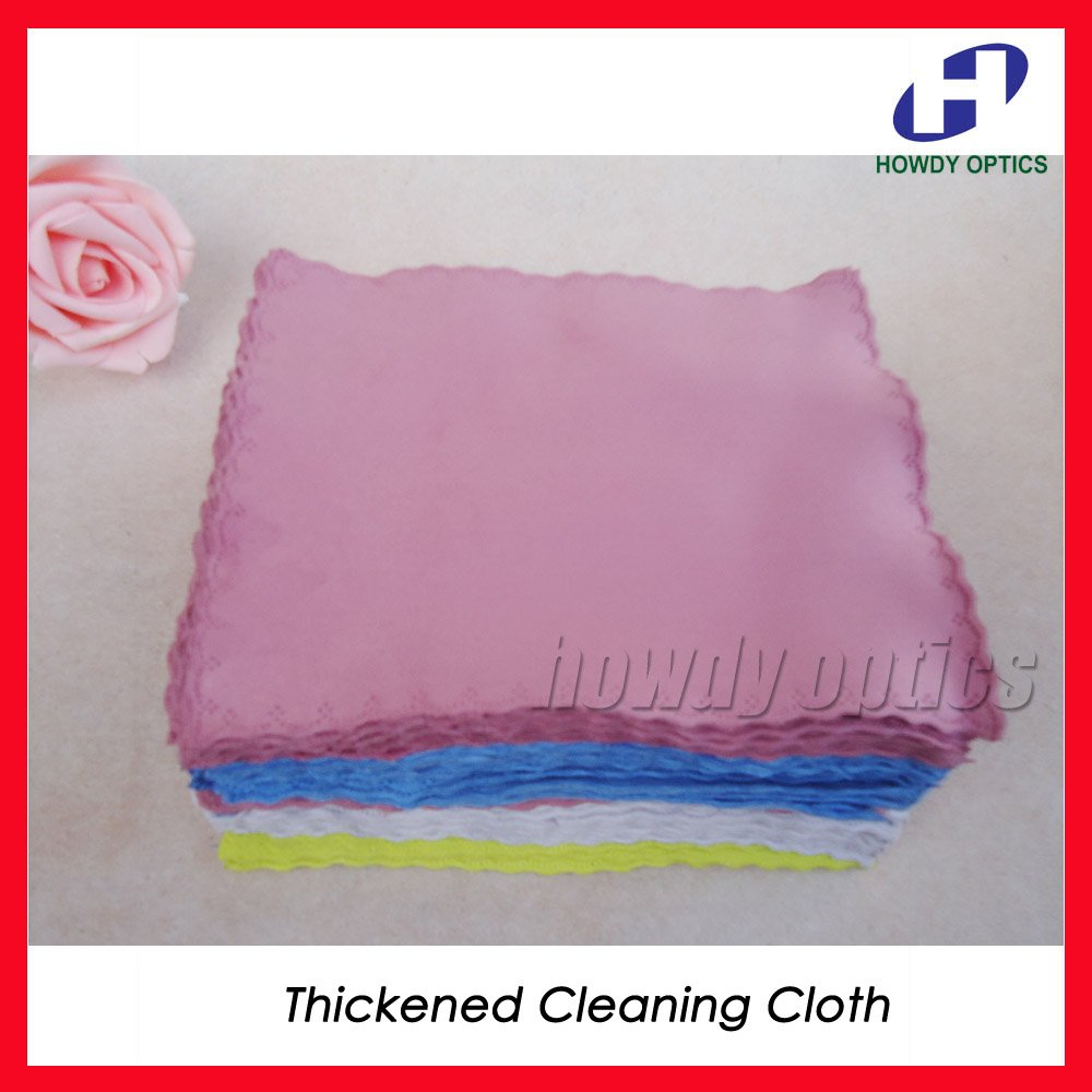 (HM-3) Thickened Colorful lens cleaning cloth for screen laptop phone etc,17x14cm,Free Shipping