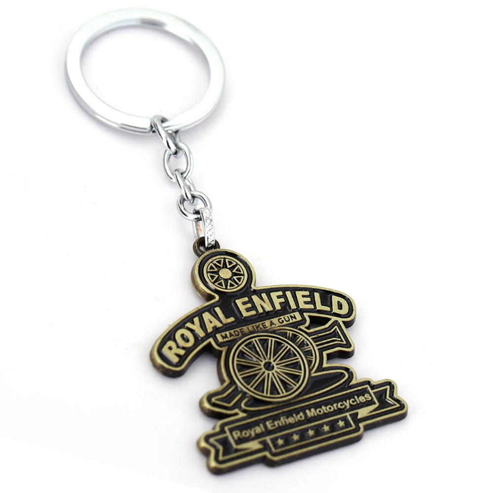Royal Enfield Key Chain Motorbike Key Rings For Gift Chaveiro Car Keychain Jewelry Key Holder Souvenir YS11229