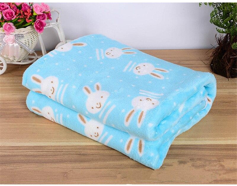 Productos para mascotas Perro Cama Manta de Invierno Cálido Coral Polar Manta Co