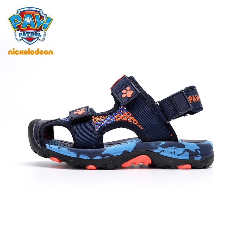 PAW PATROL Brand 2019 Summer Beach Sandals Kids Closed Toe Toddler Sandals Children Fashion Designer Shoes For Boys 21#-37#