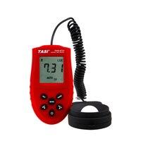 TASI-8731 디지털 라이트 미터 0.1 ~ 20,000 럭스 측정 실내 및 야외 조명 강도