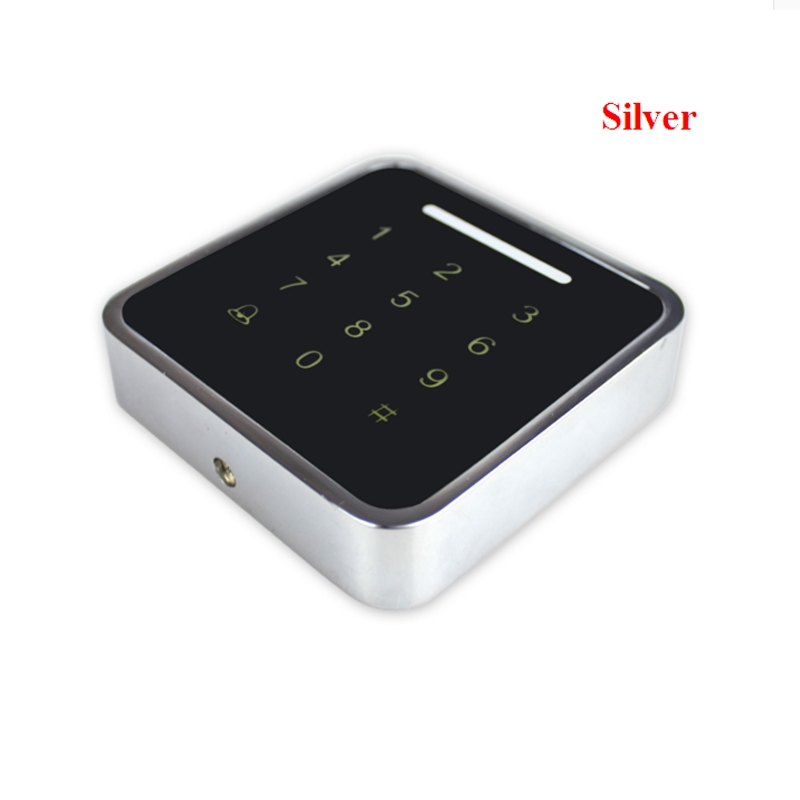 13.56mhz /125KHzMetal Rfid Access Control Keypad Support 3000 Users  ID Card Reader Electric Digital Password Door Lock wg input rfid em card reader ip68 waterproof metal standalone door lock access control with keypad support 2000 card users