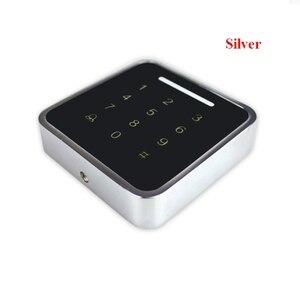 Image 1 - 13.56mhz /125KHzMetal Rfid Tastiera di Controllo di Accesso di Supporto 3000 Utenti ID Card Reader Elettrico Digitale Password Serratura Della Porta