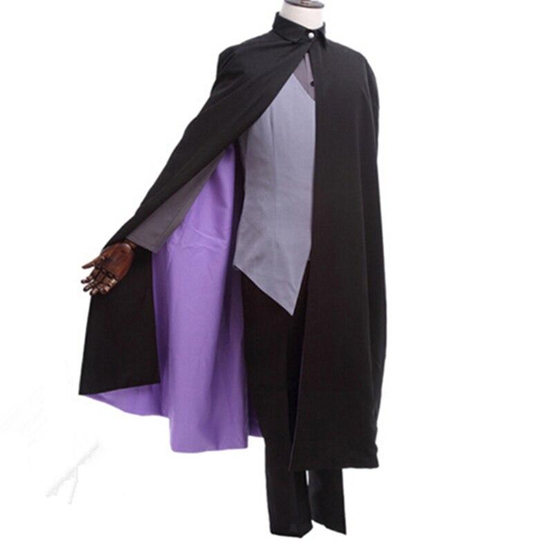 Japanese Anime Boruto Naruto The Movie Uchiha Sasuke Cosplay Costume Halloween Uniform Suit