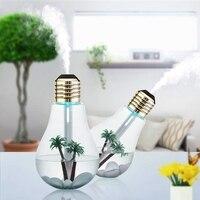 Aromatherapie Luchtbevochtiger Essentiële Olie Diffuser Wenen Lamp 400ml Rustig Ultrasone Vaporizer en LED Nachtlampje met USB