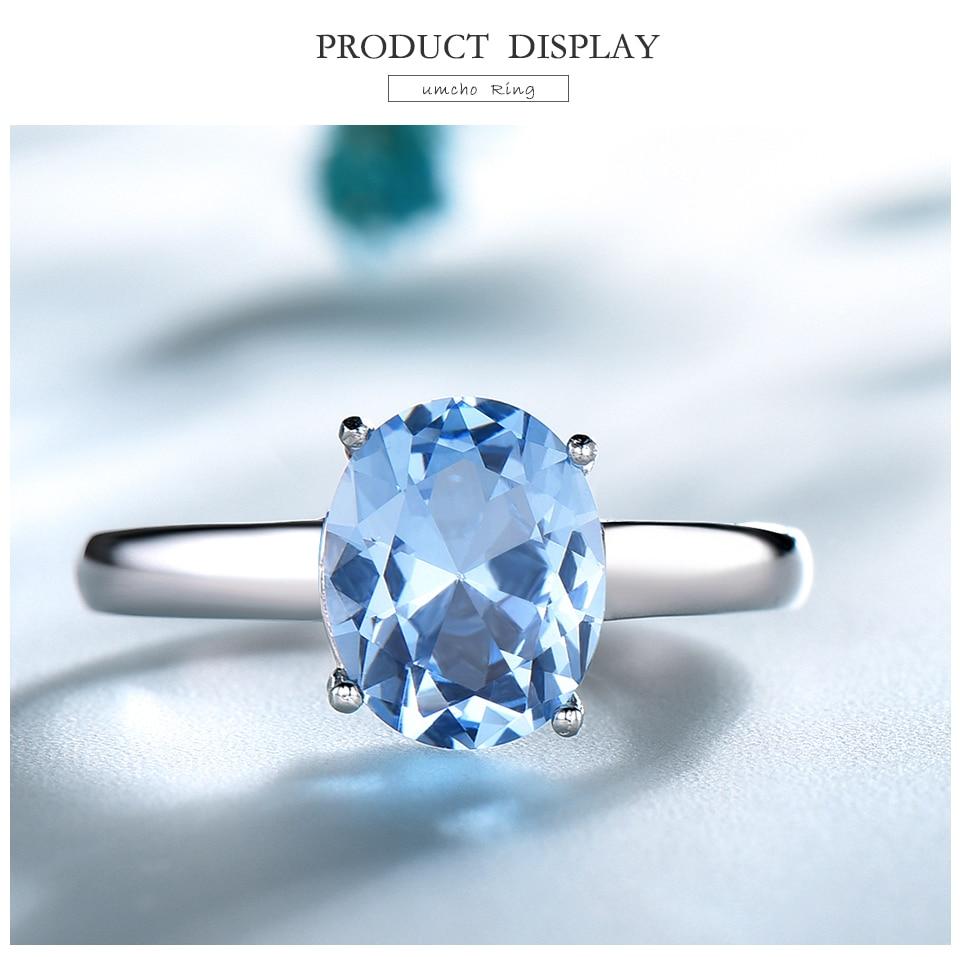 UMCHO ?Nano Sky Blue Topaz 925 sterling silver ring for women RUJ09B-1-pc (3)