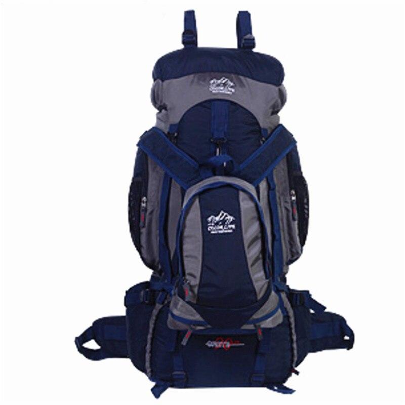 80L походный рюкзак для кемпинга, для спорта на открытом воздухе, большая емкость, сумки для альпинизма, рюкзак для путешествий, сумка для верховой езды, рыбалки - 3