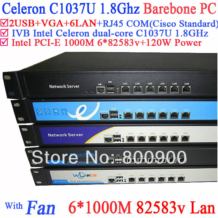 Intel c1037u dual-core platform six Gigabit LAN 82583v RouterOS Mikrotik PFSense Panabit Wayos softing router 1U Server Barebone mikrotik ccr1016 12g routerboard cloud core router 12 gigabit ports routeros