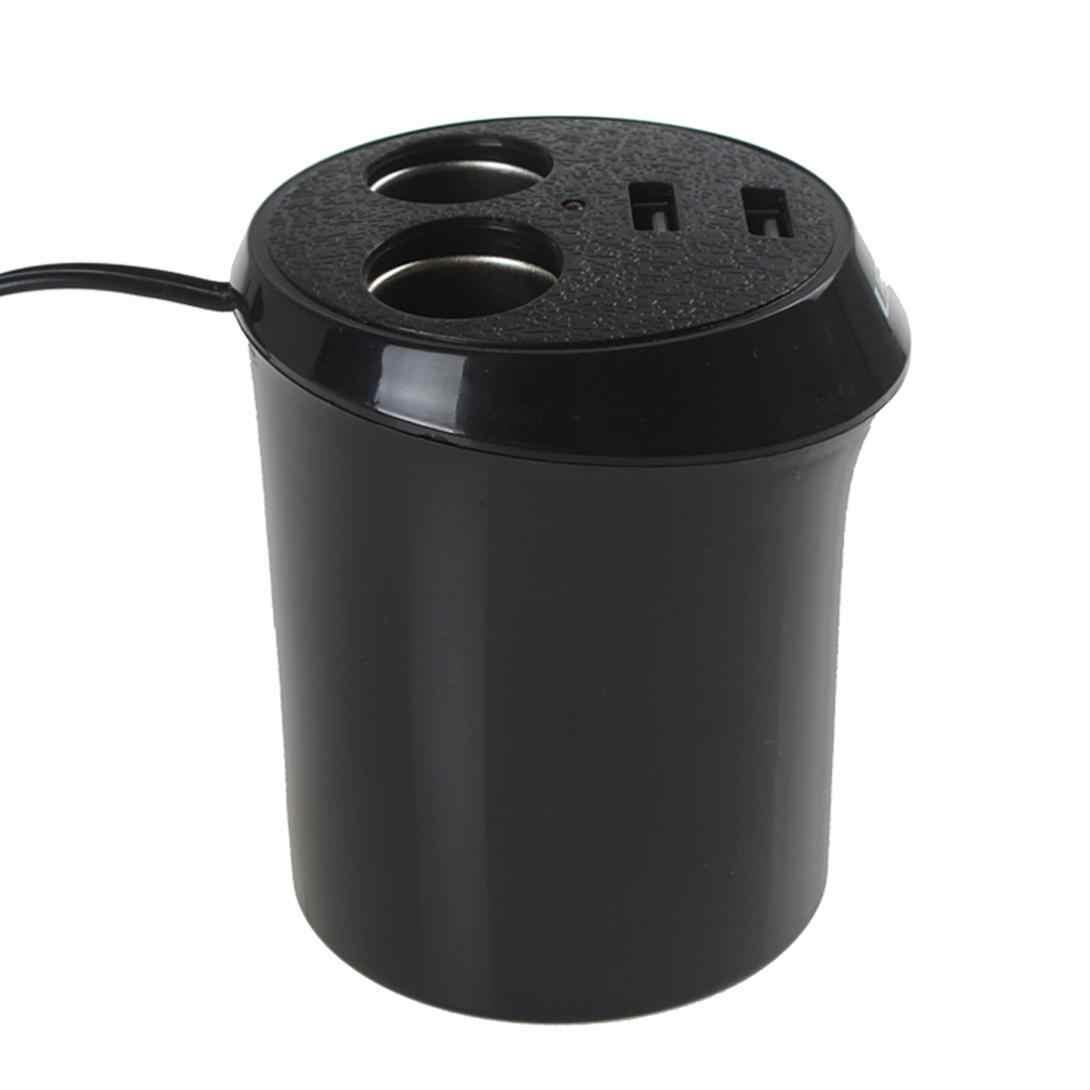 12 В автомобильный прикуриватель зарядное устройство адаптер питания сплиттер двойной USB порт 2 розетки розетка Быстрая зарядка для мобильного телефона