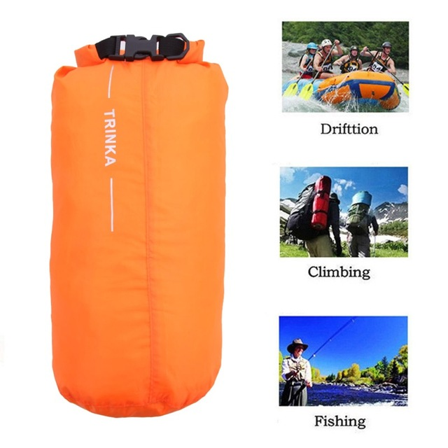 84f78c46f44a 8L Outdoor Waterproof Canoe Swimming Camping Hiking Storage Backpack Dry  Bag Pouch