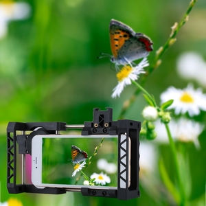 Image 4 - El sabitleyici evrensel taşınabilir ayarlanabilir cep telefonu kafes kiti ile iPhone, Samsung ve diğer akıllı telefonlar için
