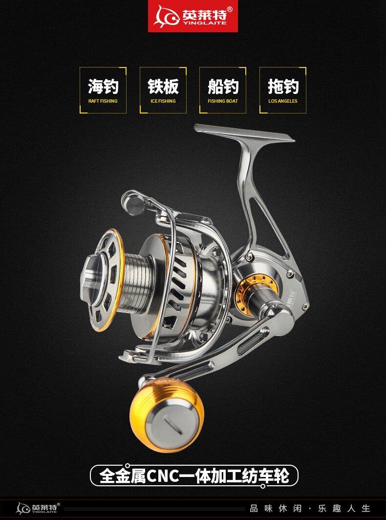 do metal completo jigging carretel de pesca