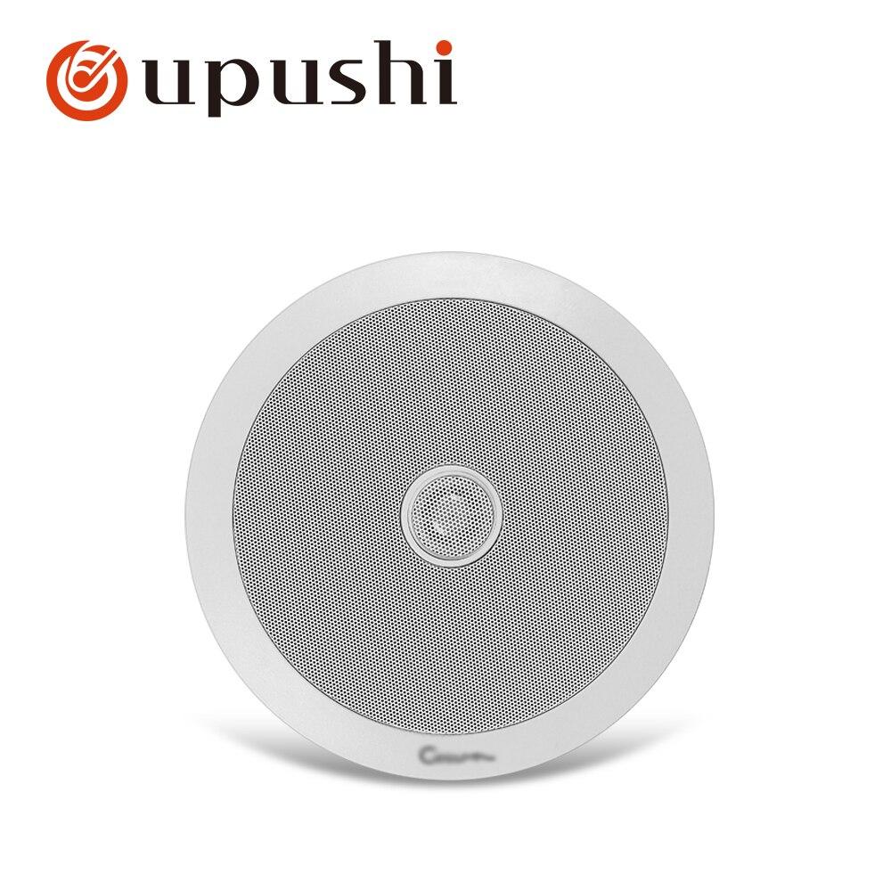 Best in wall speakers 6 5 inch coaxial ceiling speakers 20w built in wall loudspeaker for