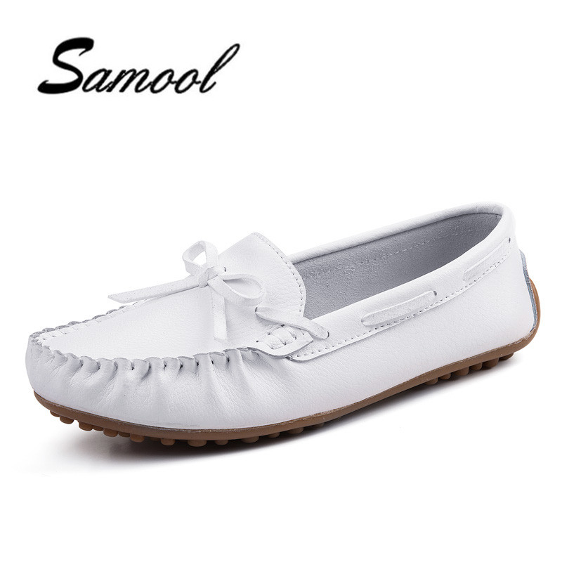 Brand Women Flats Shoes Round Toe Slip On Casual Students Loafers Comfortable Women's Flats Shoes Soft White Nurse Shoes lx5 2017 summer new fashion sexy lace ladies flats shoes womens pointed toe shallow flats shoes black slip on casual loafers t033109