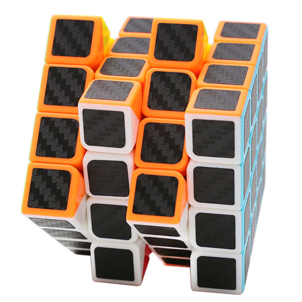 4x4x4 Z cube 6,2 см 4 слоя Скорость cube с АБС, ПВХ материал 4*4 Stickerless Cubo Megico детские развивающие игрушки