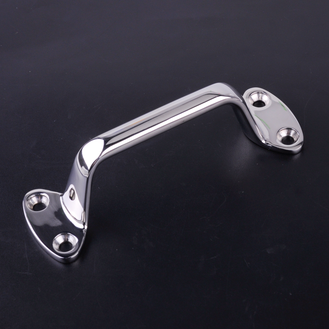 CITALL High Quality 316 Stainless Steel 150mm Boat Yacth Marine Large Cleat Door Grab Handle Handrail Pull Replacement