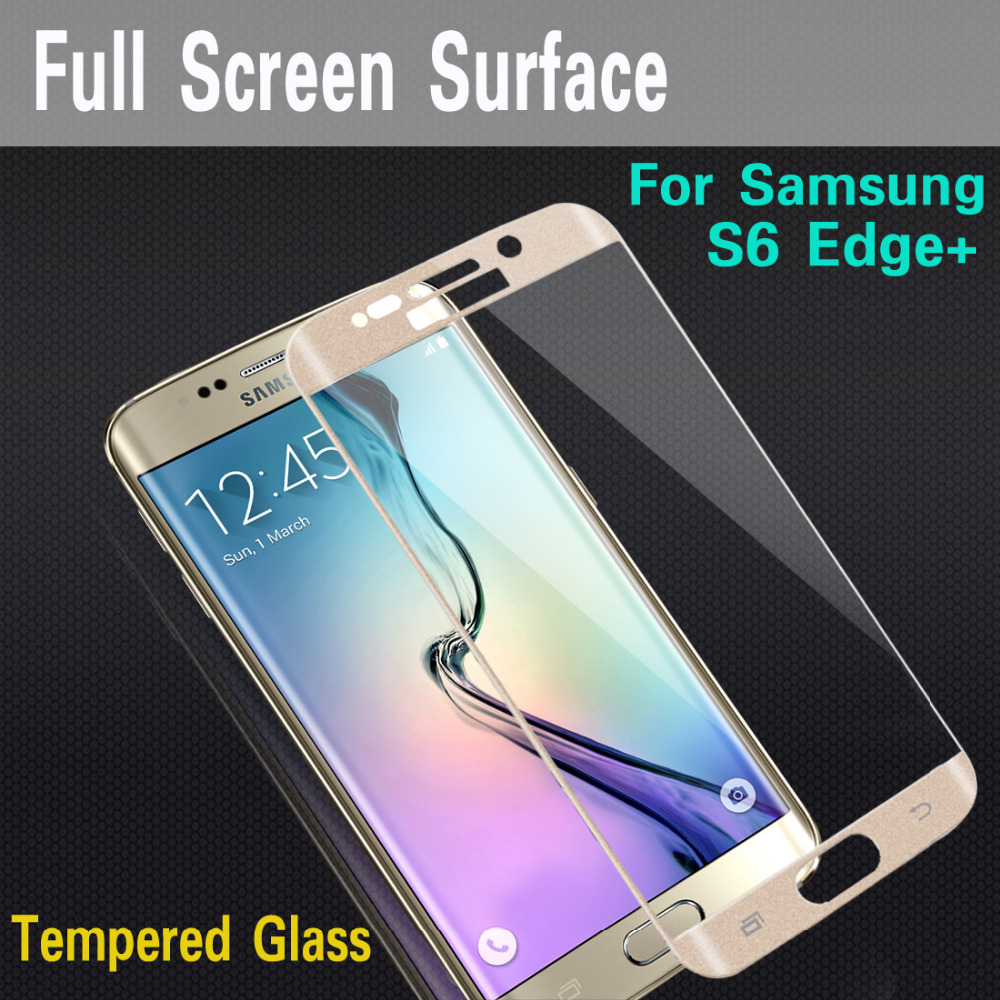 For Samsung Galaxy S6 Edge Plus(S6 Edge+) Mocolo brand Full Cover 3D Tempered Glass Screen Protector