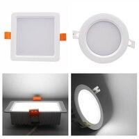 Milight FUT063 FUT064 RGB+CCT LED Downlight Blubs 6W 9W Round Square Ceiling Aluminum LED Spotlight Blub Lamp For Home Decor