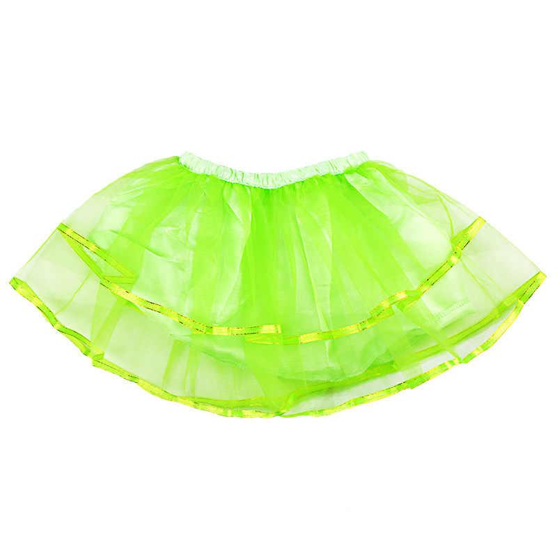 Faldas tutú para Niñas para danza Multicolor bebé tutú falda Pettiskirt bebé Arco Iris Festival Show danza falda para corto 0-7 años