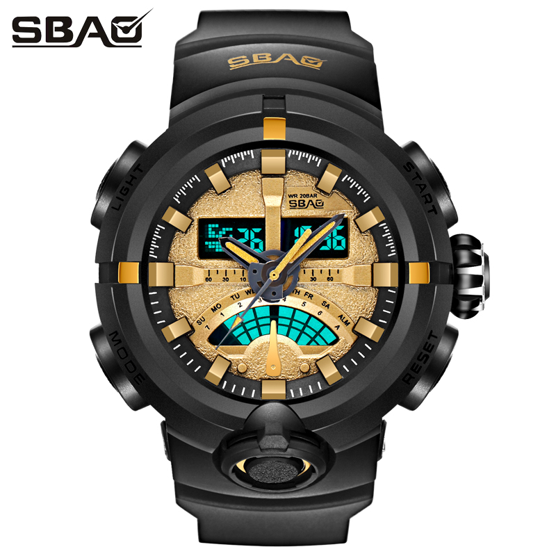 Top Brand Luxury Men Digital LED Military Watches Men's Analog Quartz Digital Watch Outdoor Sport Watch Relogio Masculino хаб usb luazon 4 ports 134048