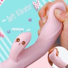 HIINST Реалистичная Милая мультискоростная Женская забавная игрушка для взрослых, водонепроницаемый массажер, игрушка для взрослых CC#, Прямая поставка
