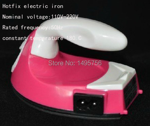 free shippmen Rhinestone Trim Dress Pink+white 1pcslot Hot Fix Applicator Diy Rhinestones Iron Use Hotfix On Crystals free Box